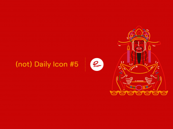 财神 - God of wealth icon design from Puwanart